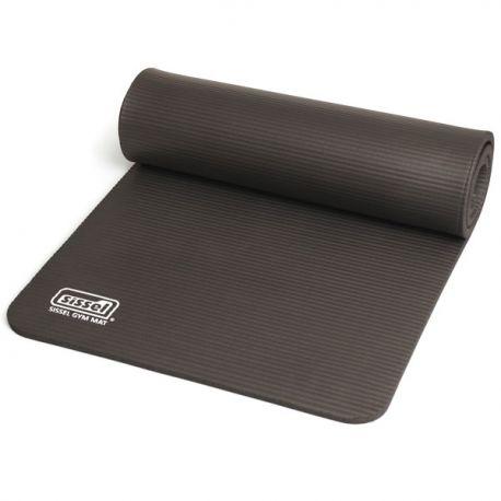 Natte absorbant les chocs - Tapis de Gymnastique Sissel Pro Gris - Exercices Pilates -Anti-dérapant