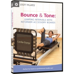 Bounce & Tone - STOTT/DVD Anglais/DVD Pilates/Exercices Pilates