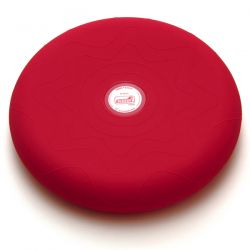 SITFIT® Rouge 36 cm - Plateau gonflé d'air - Ballon Musculation - Coussin d'assise - Exercices Pilates