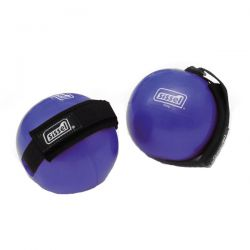 Balles Poids - Fitness Toning Ball 2 x 500 g - Balles Fitness avec Sangles - Exercices Pilates