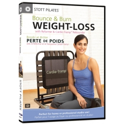 Face DVD Bounce & Burn Weight-Loss - STOTT/DVD Français/DVD Pilates/Exercices Pilates