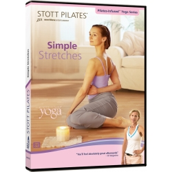 Simple Stretches - STOTT/DVD Anglais/DVD Pilates/Exercices Pilates