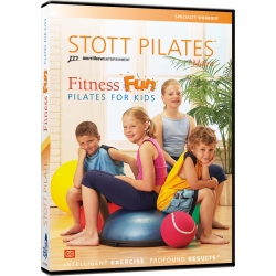 Fitness Fun, Pilates for Kids - STOTT/DVD Anglais/DVD Pilates/Exercices Pilates