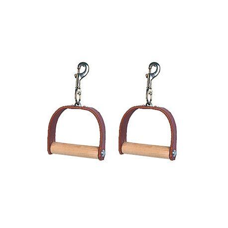 Paire de poignées en cuir Leather Handles - Pilates