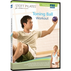 Toning Ball Workout - STOTT/DVD Anglais/DVD Pilates/Exercices Pilates