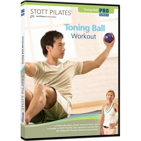 Toning Ball Workout - STOTT/DVD Anglais/DVD Pilates/Exercices Pilates