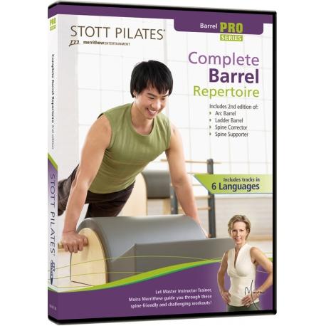 Complete Barrel Repertoire - STOTT/DVD Français/DVD Pilates/Exercices Pilates
