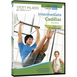 Intermediate Cadillac (2nd Edition) - STOTT/DVD Français/DVD Pilates/Exercices Pilates