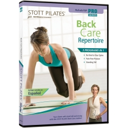 Back Care Repertoire - STOTT/DVD Anglais/DVD Pilates/Exercices Pilates