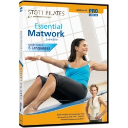 Essential Matwork (3rd Edition) - STOTT/DVD Français/DVD Pilates/Exercices Pilates
