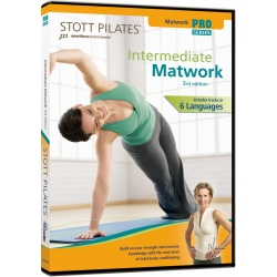 intermediate Matwork (3rd Edition) - STOTT/DVD Français/DVD Pilates/Exercices Pilates