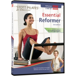 Essential Reformer (3rd Edition) - STOTT/DVD Français/DVD Pilates/Exercices Pilates