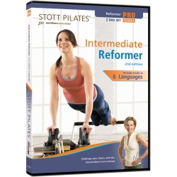 Intermediate Reformer (2nd Edition) - STOTT/DVD Français/DVD Pilates/Exercices Pilates