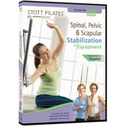 Spinal, Pelvis & Scapular Stabilization On Equipment - STOTT/DVD Français/DVD Pilates/Exercices Pilates