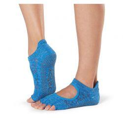 Chaussettes Pilates Toesox® Half Toe Bellarina Lapis