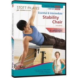 Essential & Intermediate Stability Chair (2nd Edition) - STOOT/DVD Français/DVD Pilates/Exercices Pilates
