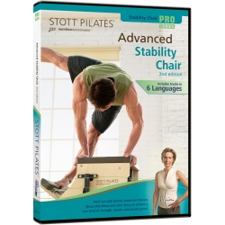 Advanced Stability Chair (2nd Edition) - STOTT/DVD Français/DVD Pilates/Exercices Pilates