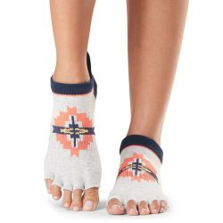 Chaussettes Pilates Toesox® Half Toe Lowrise Yonder
