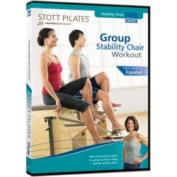 Group Stability Chair Workout - STOTT/DVD Anglais/DVD Pilates/Exercices Pilates