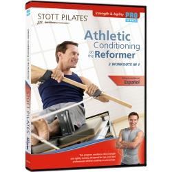 Athletic Conditioning On The Reformer - STOTT/DVD Anglais/DVD Pilates/Exercices Pilates