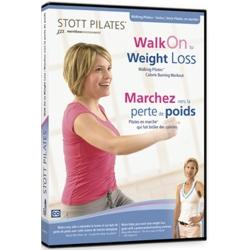 Marche vers la perte de poids/DVD Français/DVD Pilates/Exercices Pilates
