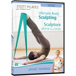 Sculpture ultime du corps/DVD Français/DVD Pilates/Exercices Pilates