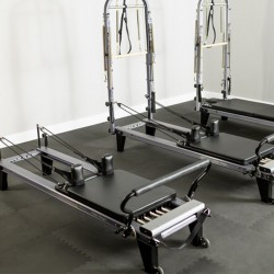 Machine Pilates pliée /Mat Conversion Allegro 1 & 1B / Machine Pilates pliable et modulable /Exercices pilates