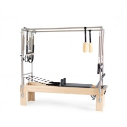 "Reformer Trapeze Vue de profil Combination Revo Footbar 24"" + box/Machine Pilates/Exercices Pilates"