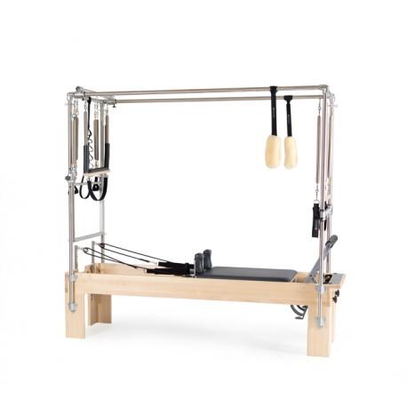 "Reformer Trapeze Vue de profil Combination Revo Footbar 24"" + box/Machine Pilates/Exercices Pilates"