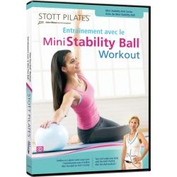 Entraînement avec le Mini Stability Ball/DVD Français/DVD Pilates/Exercices Pilates