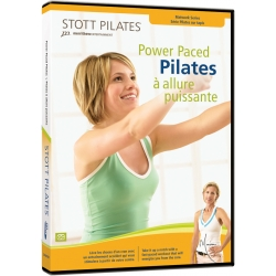 Pilates à allure puissante/DVD Français/DVD Pilates/Exercices Pilates