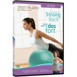 Le secret pour un dos fort/DVD Français/DVD Pilates/Exercices Pilates