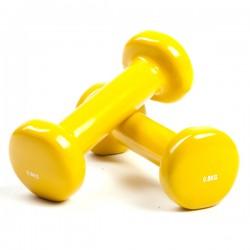 Haltère jaune 0.5 kg, la paire/Fitness/Exercise Pilates