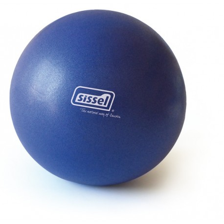 Pilates Soft Ball Bleu 26cm - Exercices Pilates - Ballon Pilates