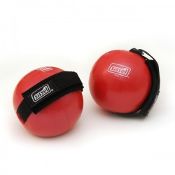 Fitness Toning Ball 1000g rouge, la paire