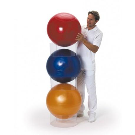 Rangement Ballons Gym - Cerceaux de rangement, set de 3 - Accessoire Pilates