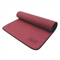 Tapis de gym anti-dérapant bordeaux pour Yoga et Pilates - Exercices Pilates - Sport Pilates