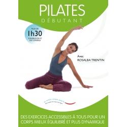 Jaquette Pilates Débutant /DVD Français/DVD Pilates/Exercices Pilates