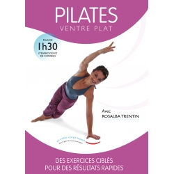 Pilates Ventre Plat/DVD Français/DVD Pilates/Exercices Pilates