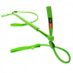 GYMSTICK Vert Original (1 à 10 kg) - Elastique résistant - Fitness - Exercices pilates