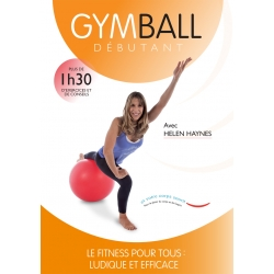Jaquette Gym Ball Débutant/DVD Français/DVD Pilates/Exercices Pilates