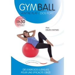 Face DVD Gym Ball Ventre Plat - Dos Fort/DVD Français/DVD Pilates/Exercices Pilates