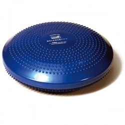 BALANCEFIT bleu - Plateau gonflé d'air - Multifonctionnel - Exercices Pilates