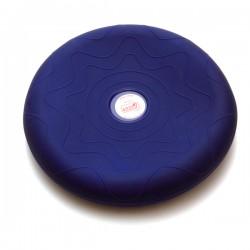 SITFIT® Bleu 36 cm - Plateau gonflé d'air - Ballon Musculation - Coussin d'assise