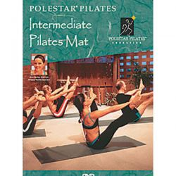 Polestar Pilates DVD intermediate Pilates Mat/DVD Anglais/DVD Pilates/Exercices Pilates