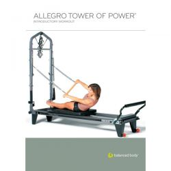 DVD Balanced Body - Allegro Reformer level 1 (Anglais)/DVD Anglais/DVD Pilates/Exercices Pilates
