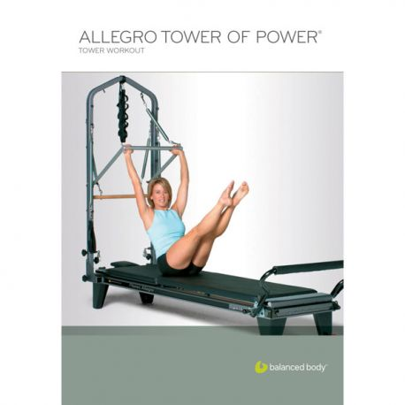 DVD Balanced Body - Allegro Reformer level 2 (Anglais)/DVD Anglais/DVD Pilates/Exercices Pilates
