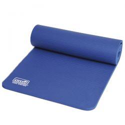 Natte absorbant les chocs et anti-dérapant - Tapis de Gymnastique Sissel Pro bleu - Exercices Pilates