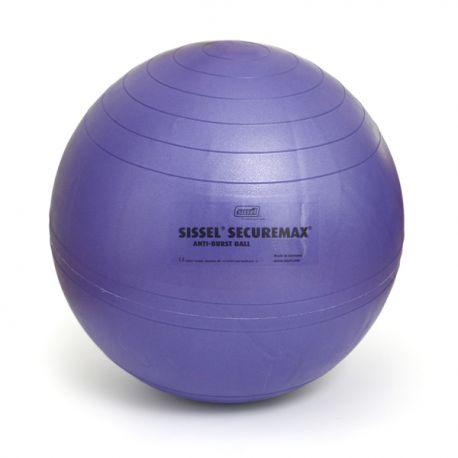 Ballon de Gymnastique Violet ou Swiss Ball SECUREMAX 45 cm  - Exercices Pilates - Résistant aux chocs