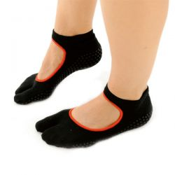 "SISSEL® Chaussettes Pilates ""One Toe"" S/M - Chaussettes Pilates - Chaussettes un orteil"